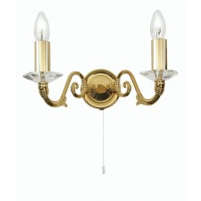 Wren Decorative Wall Light - Gold Plate
