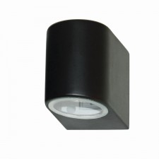 IP44 Outdoor Light - Black Down Light