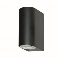 IP44 Outdoor Light - 2 Way Black