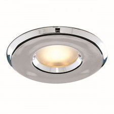 Bathroom - Downlighter Recessed Chrome Halogen Shower Light