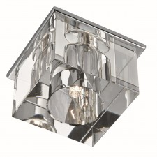 Recessed Clear Ice Cube Downlight Recessed Chrome