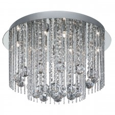 Beatrix 8 light ceiling light - chrome