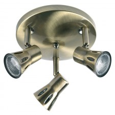 Spot Light Ceiling Light - Antique Brass