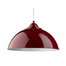 Sanford - Pendant Half Dome Red