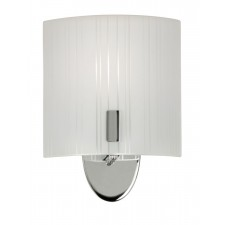 Zafra Wall Light - Satin Chrome