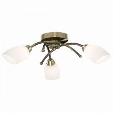 Opera Ceiling Light - 3 Light - Antique Brass