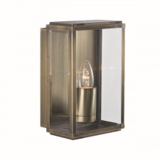 IP44 Outdoor Light - Antique Brass