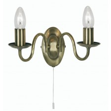 Nador Decorative Wall Light - Antique Brass