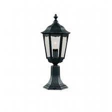 Alex Outdoor Light - Wall Post - Matt Black