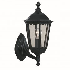 Alex Outdoor Light - Wall Light - Matt Black