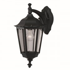 Bel Aire Outdoor Wall Lamp - Down Light, Cast Aluminium Black, (IP44)