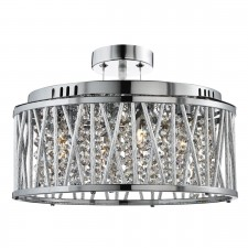 Rojavita Ceiling Light - 5 Light, Polished Chrome