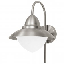 WL/1 E27 stainless-steel 'SIDNEY'