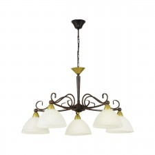 HL/5 E14 round antique-brown 'MEDICI'
