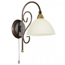 WL/1 E14 antique-brown 'MEDICI'
