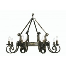 Carlisle Decorative Ceiling Light - 8 Light