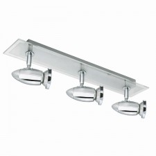 Saturn Spot Lights - Chrome & Glass
