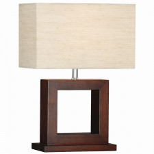 Cosmopolitan Table Lamp - Solid Wood