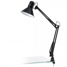 TL-clip-lamp/1 black-shiny/black 'FIRMO'