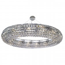 Safia Ceiling Light - Crystal Pendant