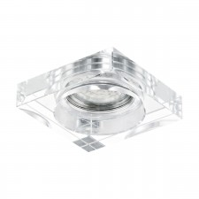 fitting-lamp/1 GU10 clear/alu 'TORTOLI'