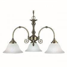 Virginia Ceiling Light - antique 3 light