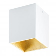 LED-DL 100X100 WHITE/GOLD 'POLASSO'