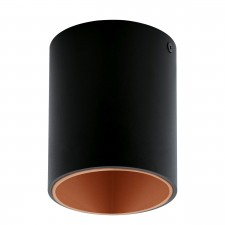 LED-DL 100 BLACK/COPPER 'POLASSO'