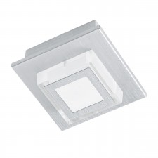 LED-WL/CL/1 alu-brushed/sat.'MASIANO'
