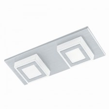 LED-WL/CL/2 alu-brushed/sat.'MASIANO'