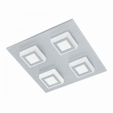 LED-WL/CL/4 alu-brushed/sat.'MASIANO'