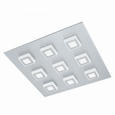 LED-WL/CL/9 alu-brushed/sat.'MASIANO'