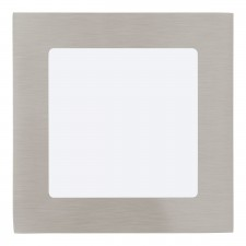 RECESSED LED SPOT 120X120 NICKEL 3000K'F