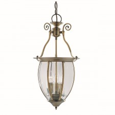 Lantern Stevenson - 3 Lamp Antique Brass
