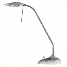 LED 5W Flexi Table Lamp - Chrome, Included with Dimmer Switch