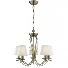 Andretti Ceiling Pendant - antique brass