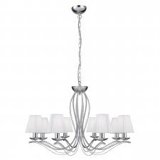 Andretti Ceiling Light - chrome
