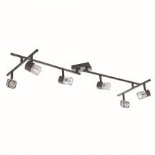 Blocs Ceiling Light - Black Chrome