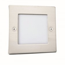 LED Recessed Light - Square Steel