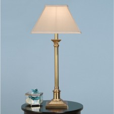 Interiors1900 Grenville Brass With Oyster Shade