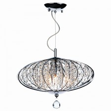 Adriatic 3 Light Ceiling Pendant - Polished Chrome