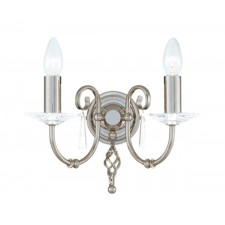 Elstead AG2 POL NICKEL Aegean 2 - Light Wall Light Polished Nickel
