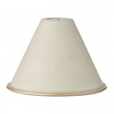 Metal Mottled Beige Candle Shade