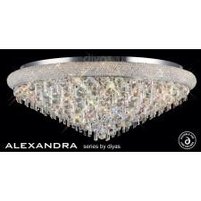 Diyas Alexandra Ceiling 18 Light Chrome/Crystal