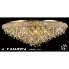 Diyas Alexandra Ceiling 18 Light French Gold/Crystal