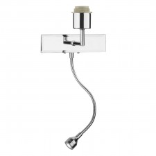 Amalfi Wall Light (Bracket only) - Polished Chrome