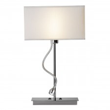 Amalfi Table Lamp (Base only) - Polished Chrome
