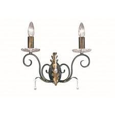 Elstead AML2 BRONZE Amarilli 2 - Light Wall Light Bronze/Gold