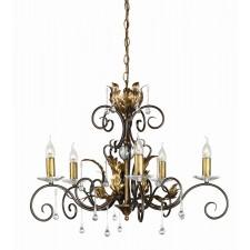 Elstead AML5 BRONZE Amarilli 5 - Light Chandelier Bronze/Gold