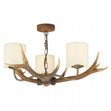 Antler 3 light Pendant